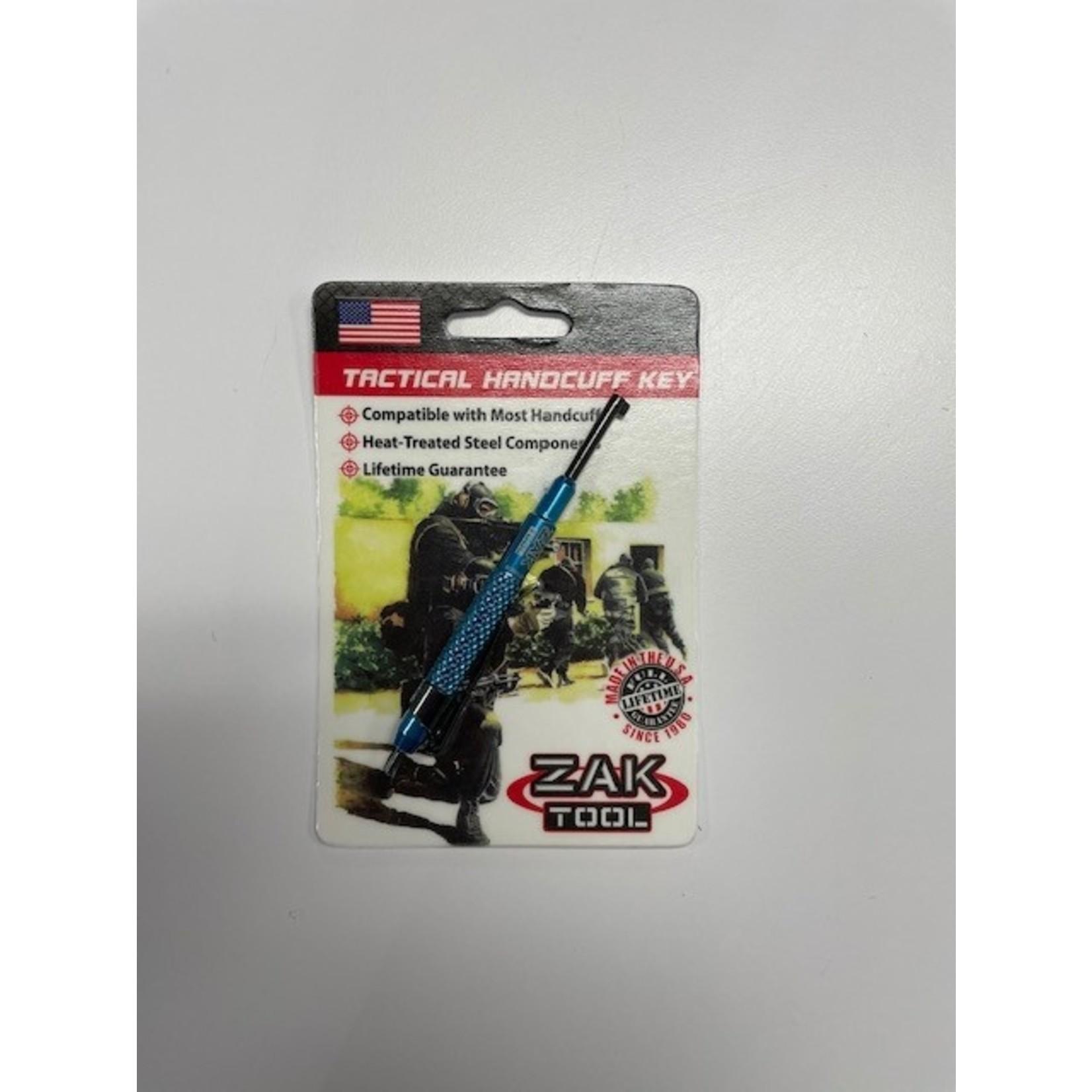Zak Tool Zak Tool- ZT13-BLU Tactical Handcuff Key