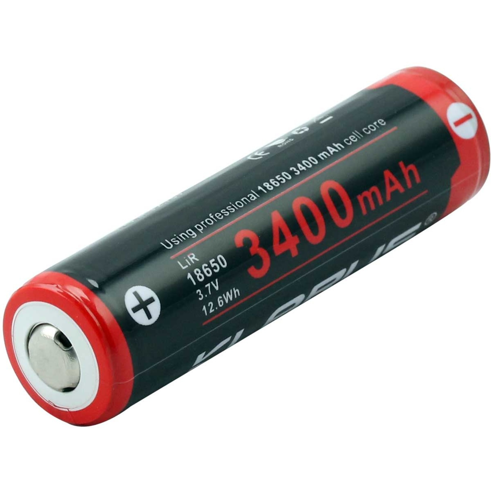 Klarus Klarus 18650 3400MAh-3.7V Li-on Battery