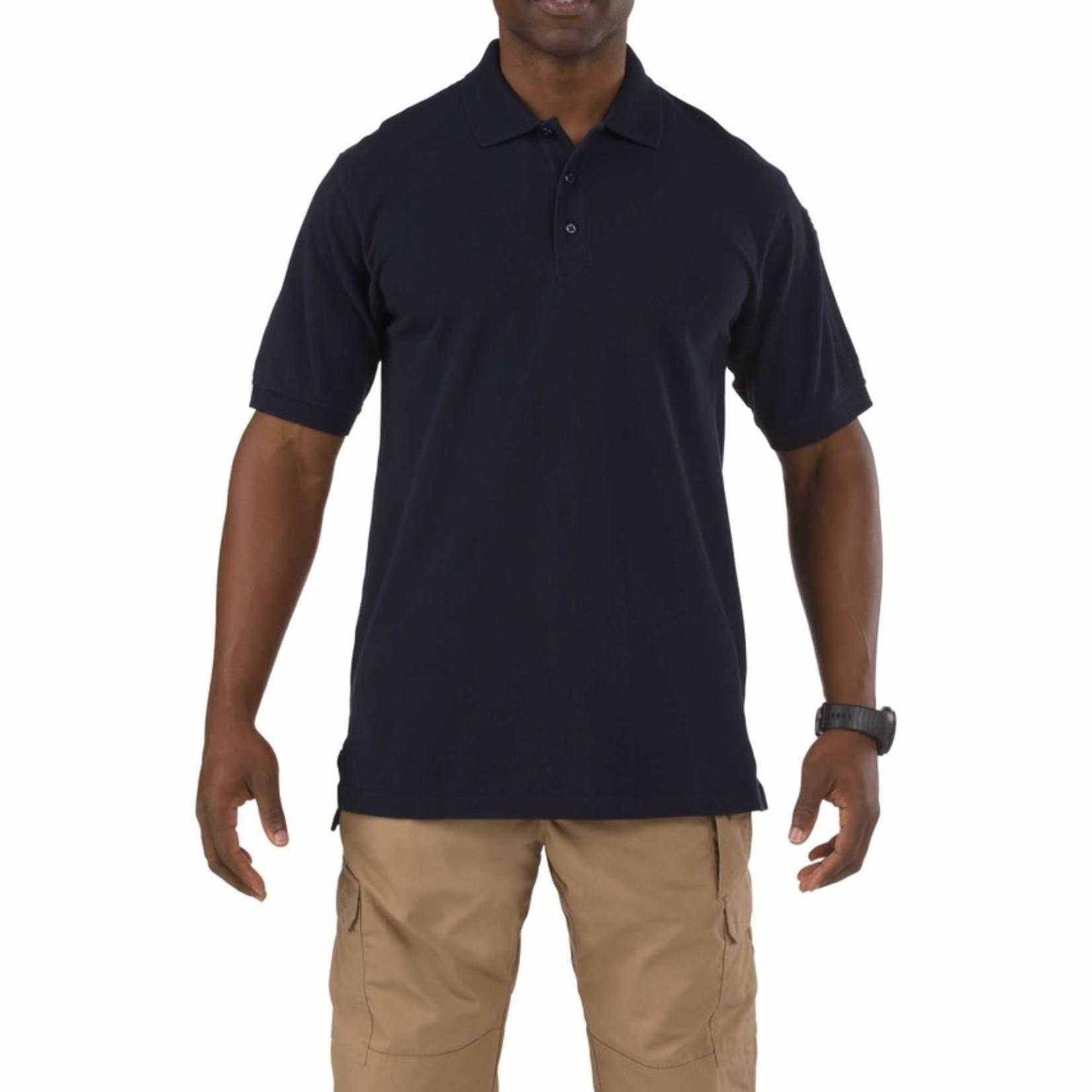 5.11 Tactical 5.11 Men's Professional S/S Polo- Medium