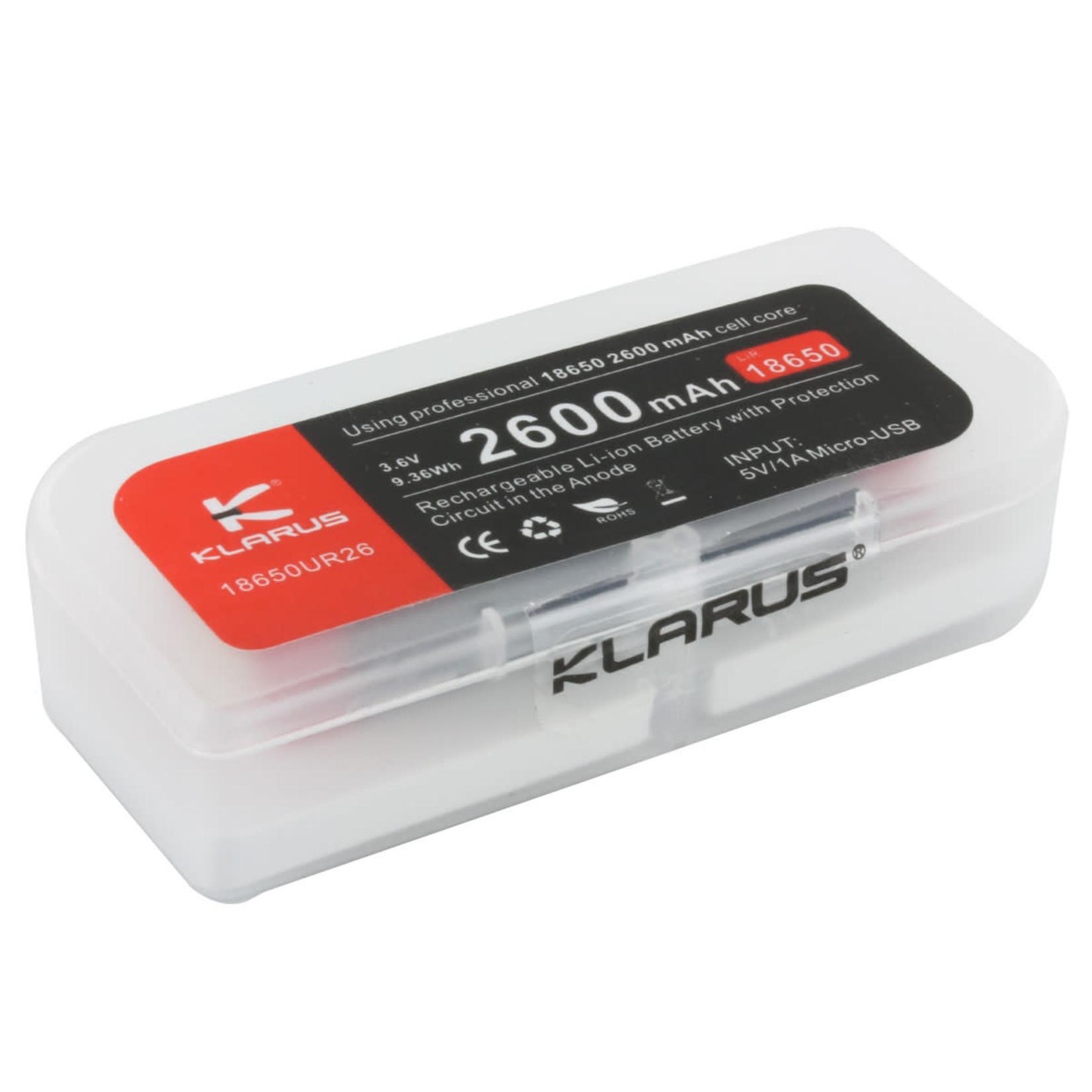 Klarus Klarus 2600mAh Battery-Rechargeable Li-ion