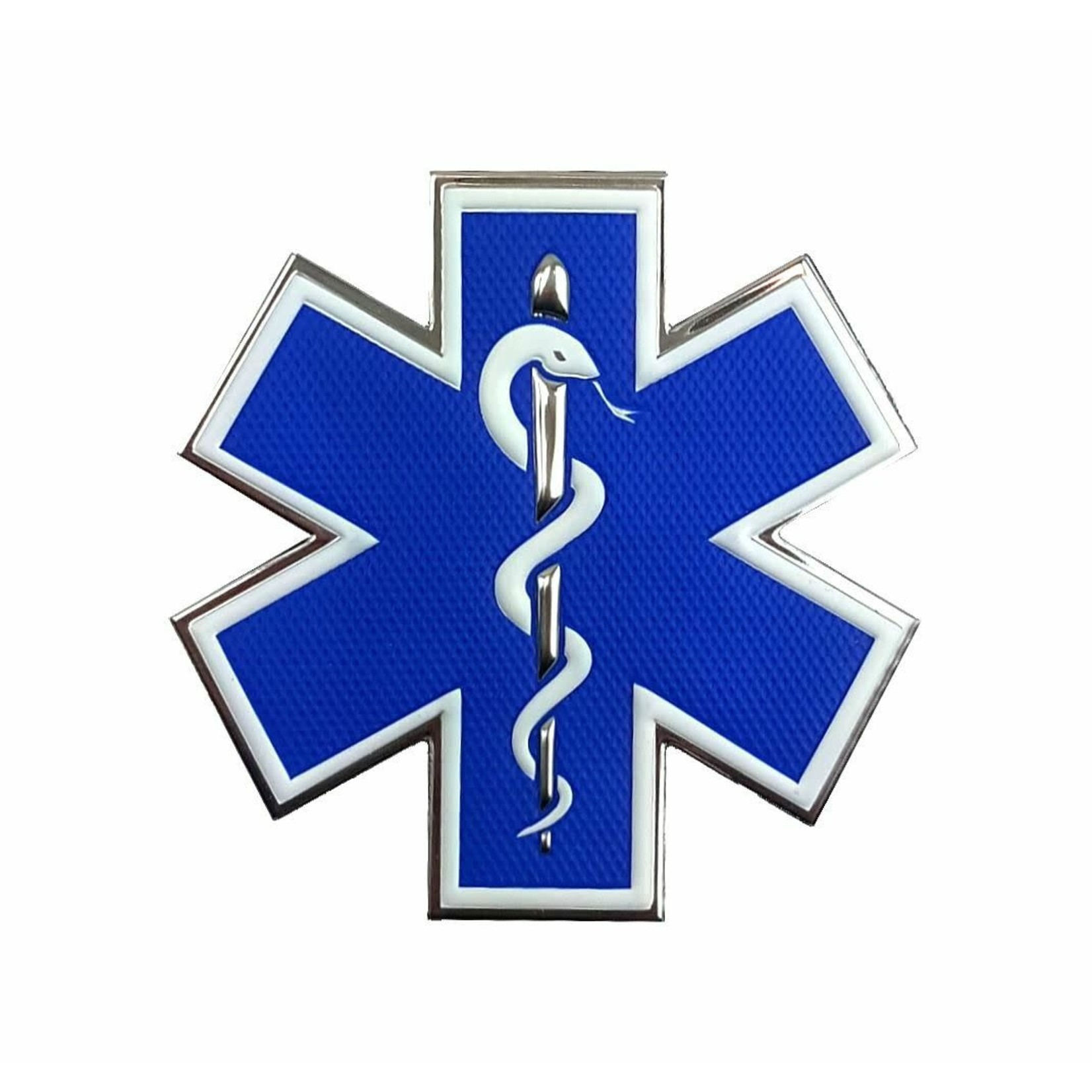 Klarus Tactical Innovations Chrome Morale Patch -Medical Responder
