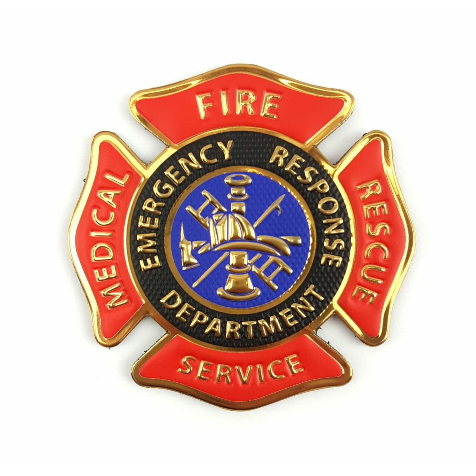 Klarus Tactical Innovations Chrome Morale Patch-Fire Medical  Rescue Services