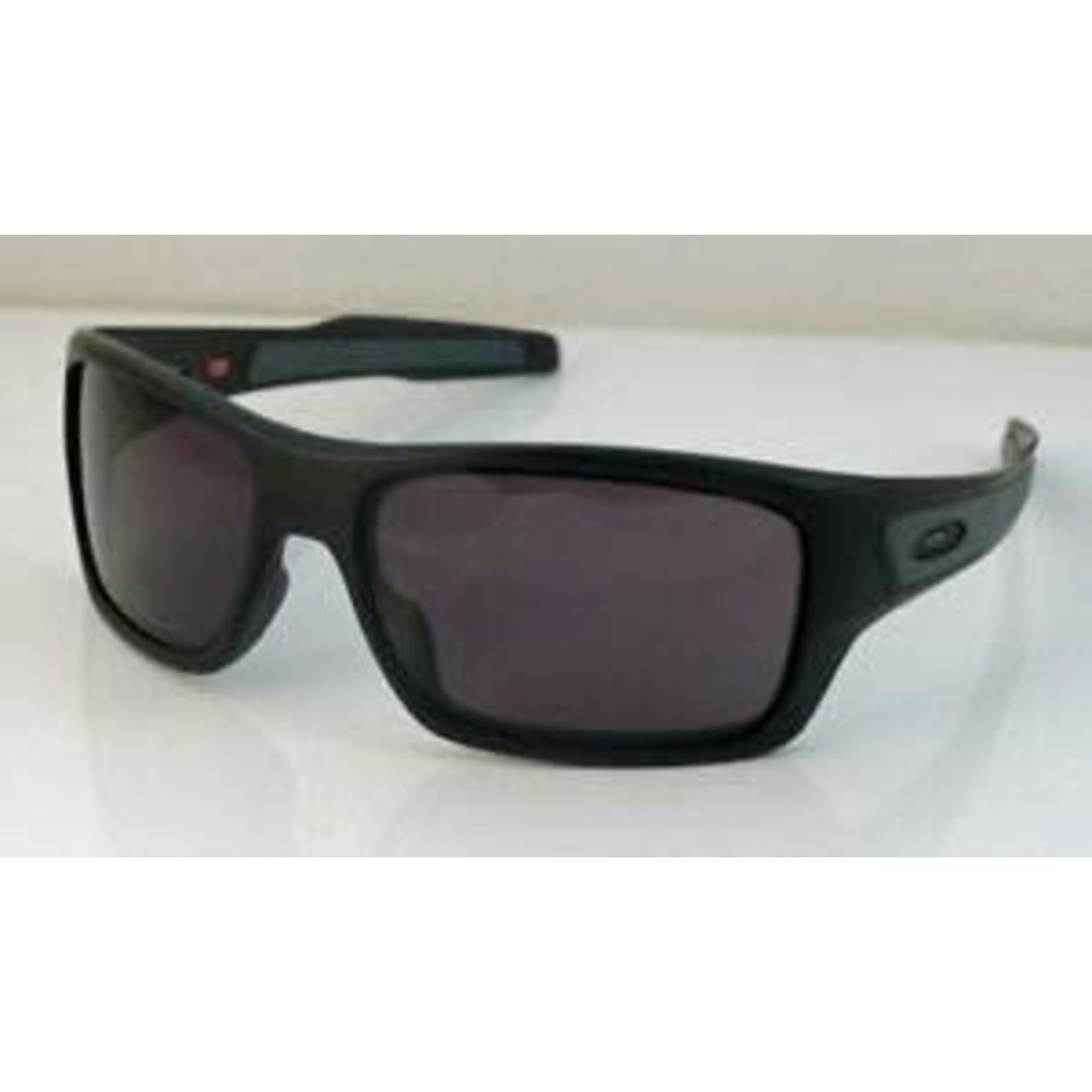 Oakley Oakley Men's Sunglasses-Turbine-Frame- Matte Black- Lens: Warm Grey