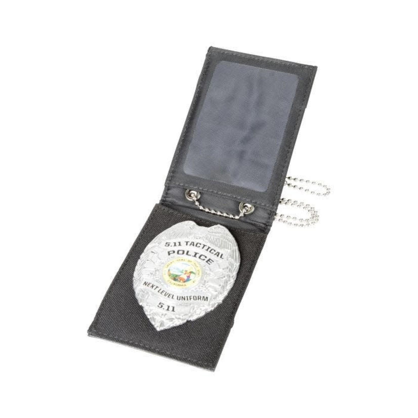 5.11 Tactical 5.11 Safe 3.4 Badge Wallet..Color: Black