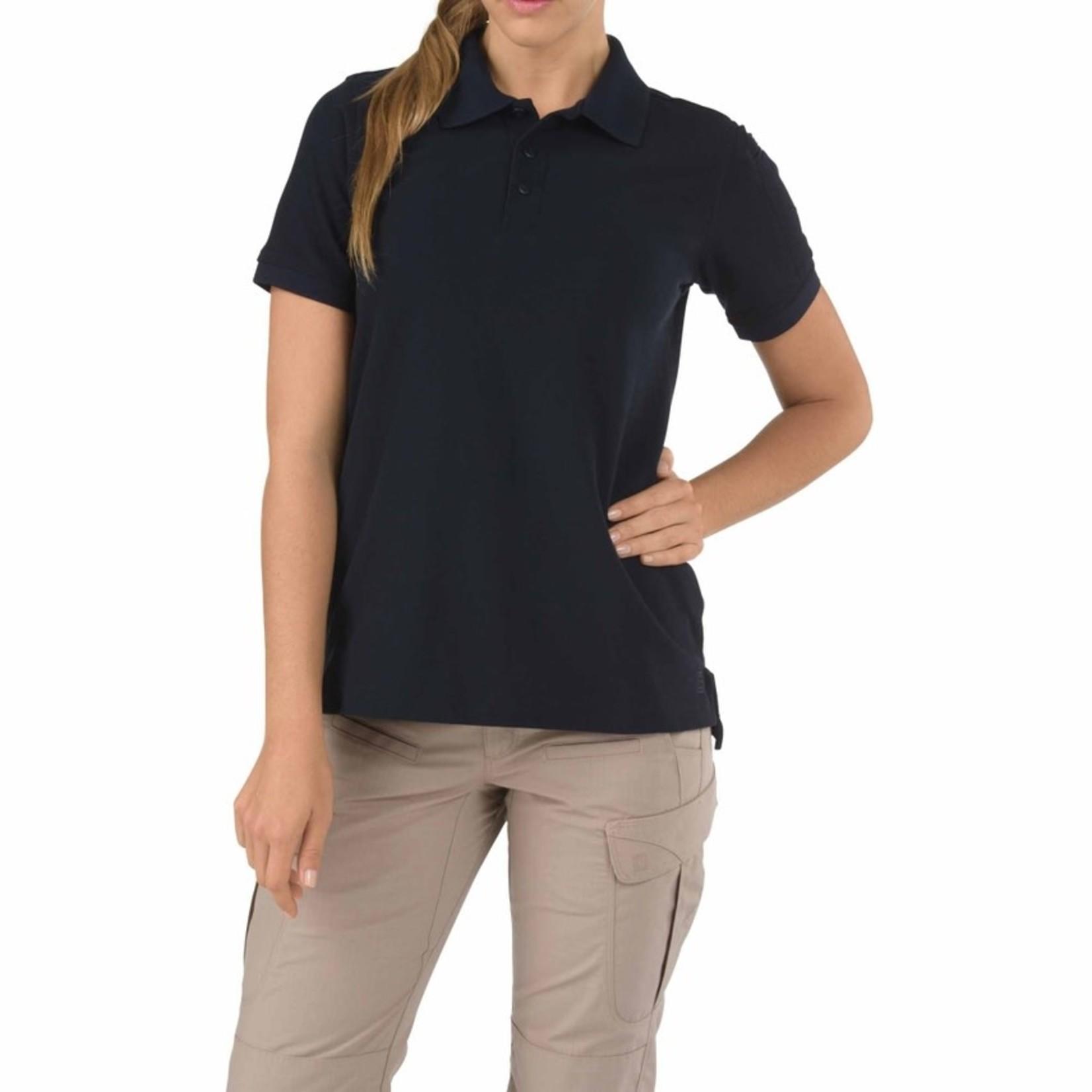 5.11 Tactical 5.11 Women's Professional Polo- Navy- Medium