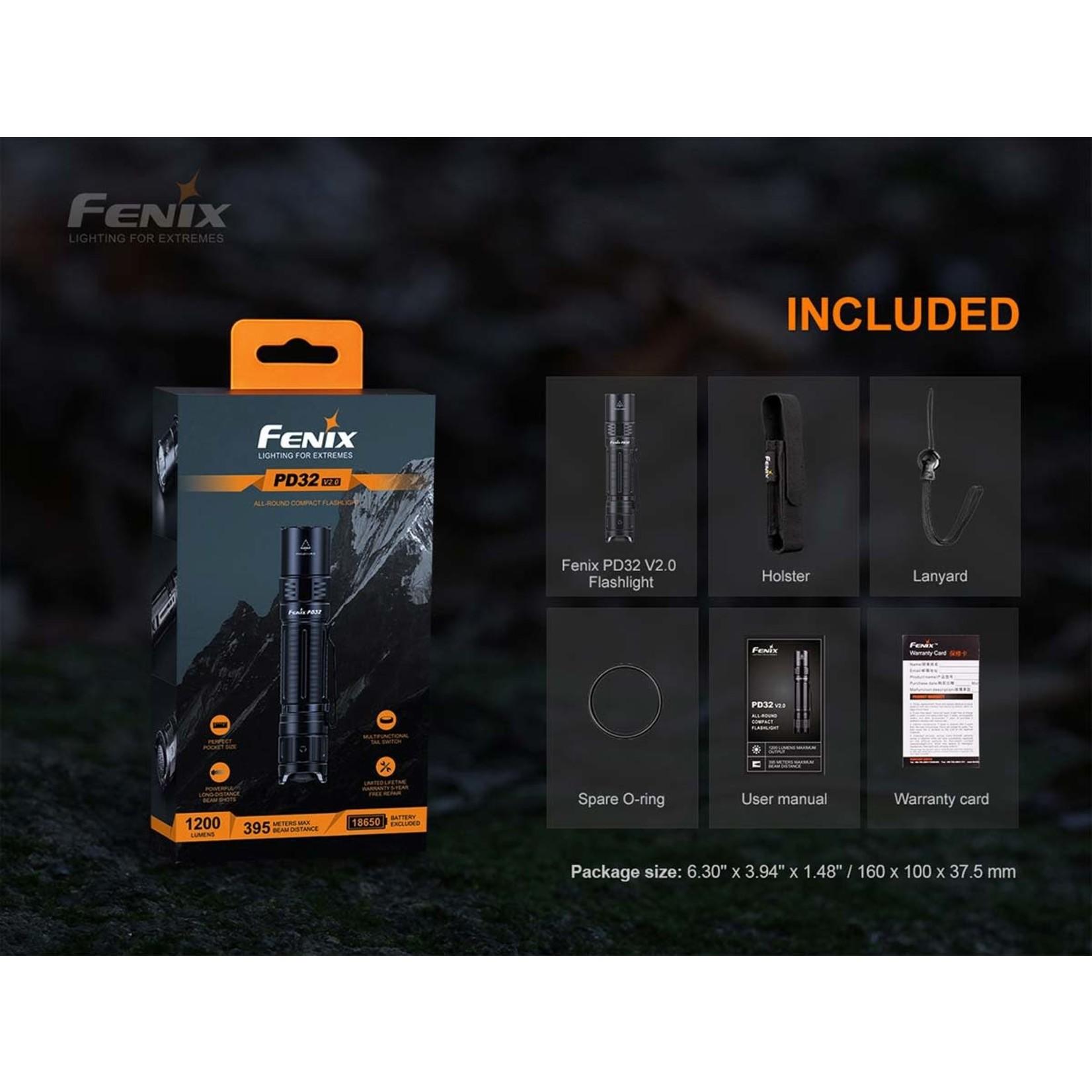 Fenix Fenix PD32 V2.0 All-Round Compact Flashlight