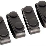 Blackhawk Blackhawk Molded Belt Keepers 4Pack