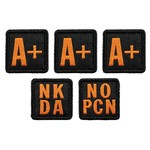 5.11 Tactical 5.11 Blood Type Patch Kit  A+