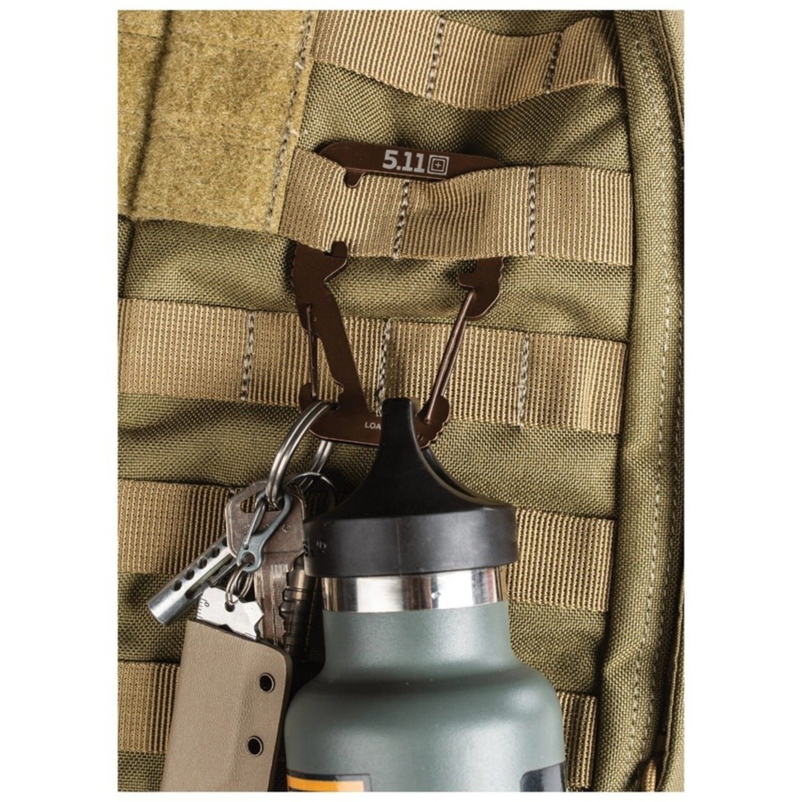 5.11 Tactical 5.11 Hardpoint M3 Carabiner Clip Black