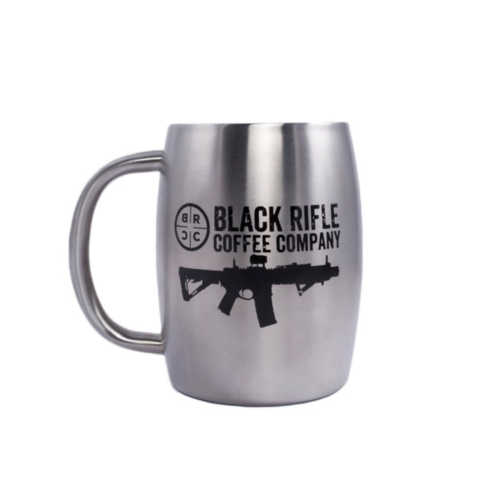 Black Rifle Coffee Black Rifle Coffee Stainless Steel Mug - Silver