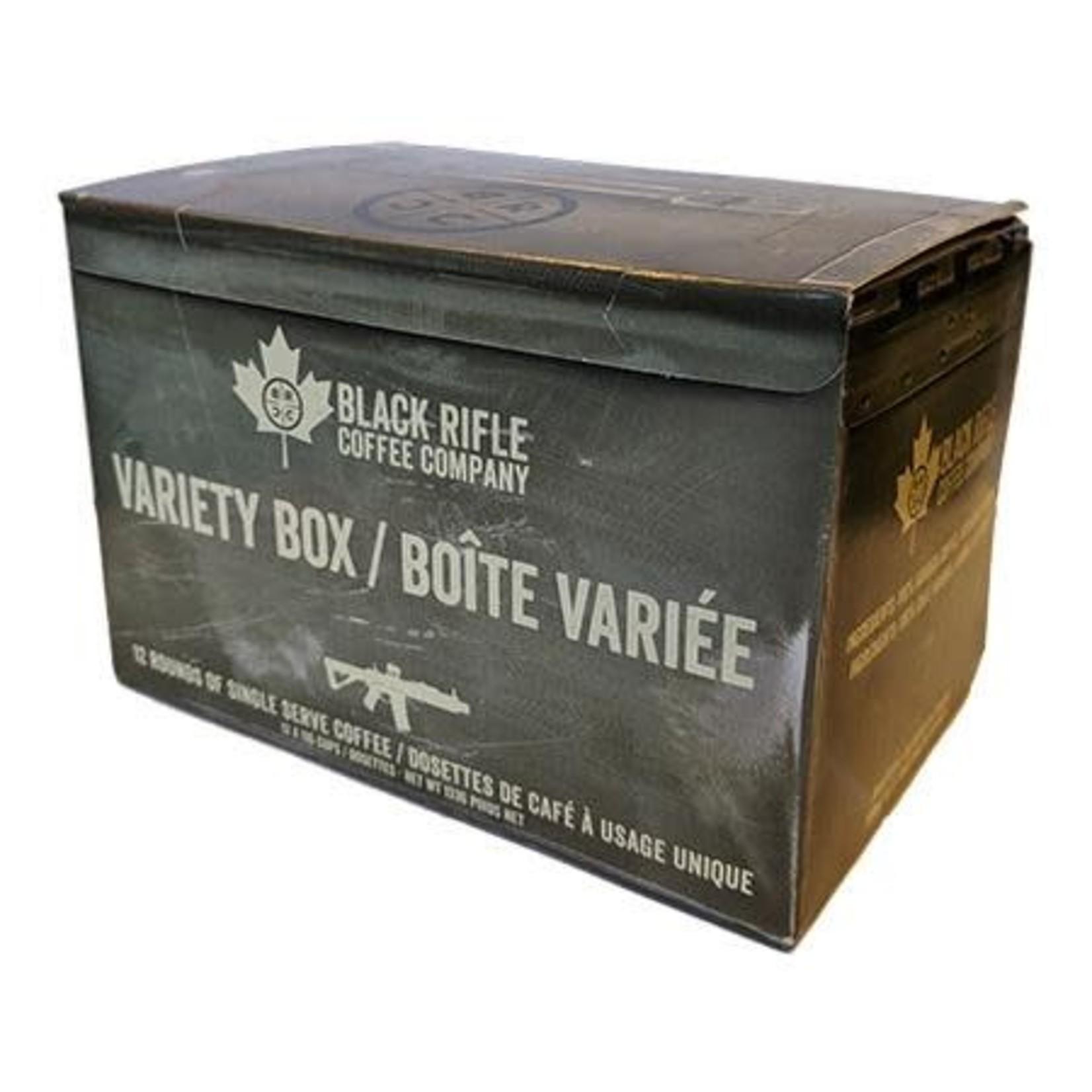 Black Rifle Coffee Black Rifle Coffee Variety Box Rounds