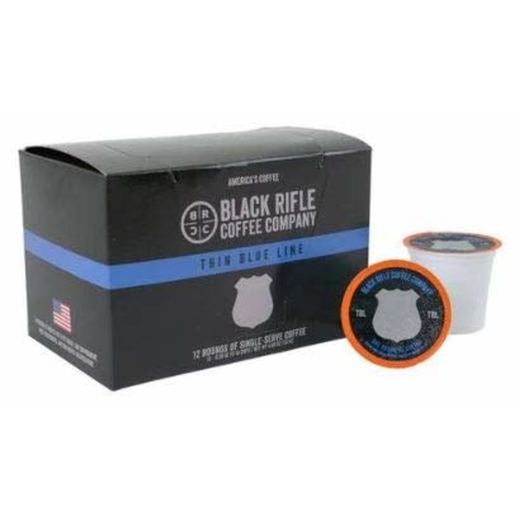 Black Rifle Coffee Black Rifle Coffee Rounds-Thin Blue Line