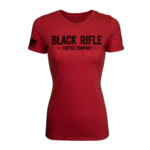 Black Rifle Coffee Black Rifle Coffee Women's Company Shirt-RED- Medium