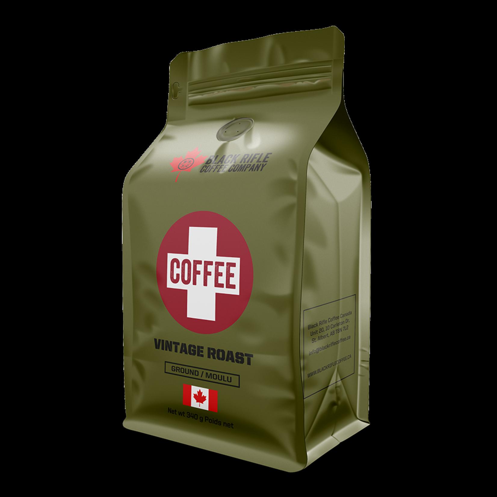 Black Rifle Coffee BRCC Coffee Saves Lives Beans (vintage roast)
