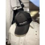 Security Hat Black adjustable
