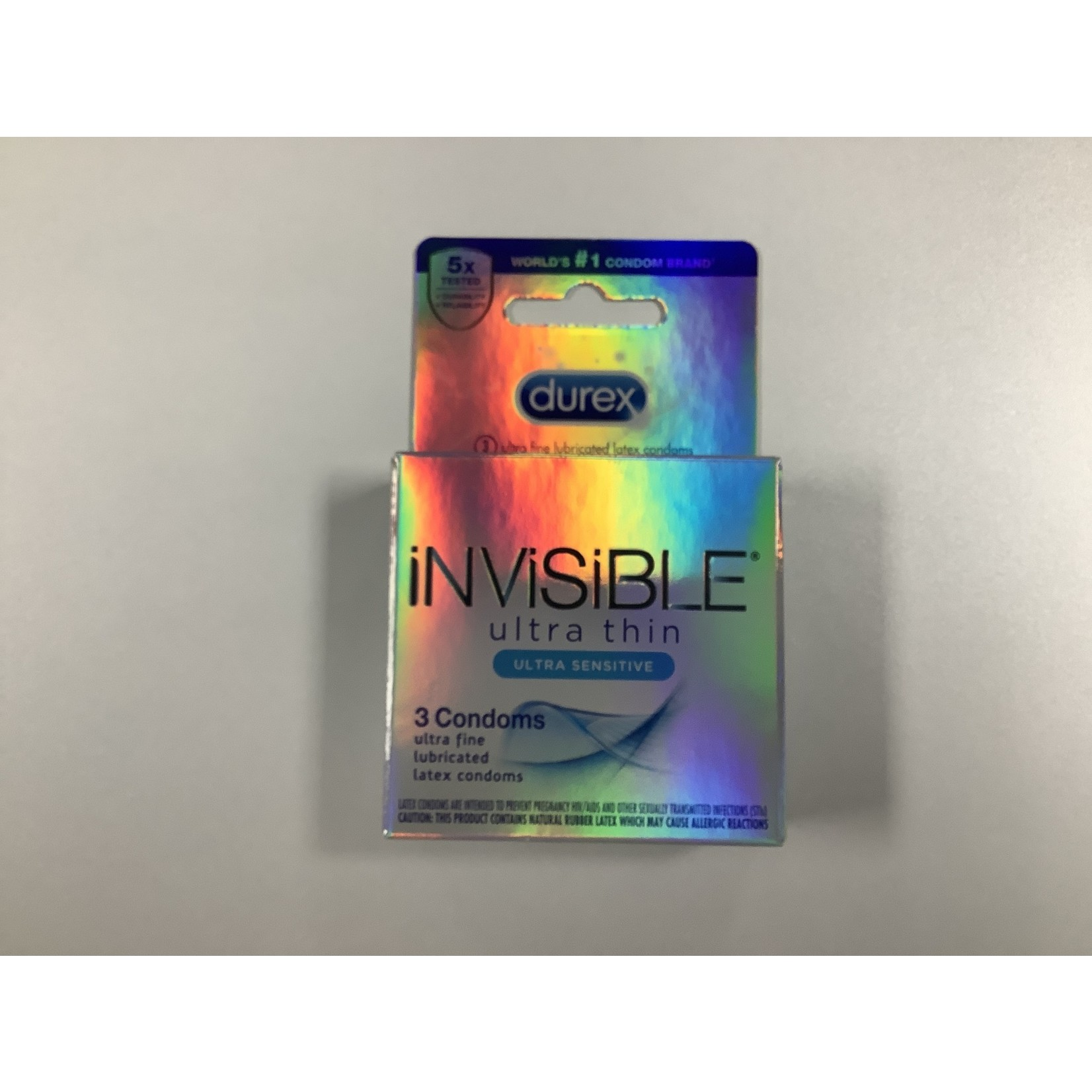 Durex Invisible Ultra Thin (3 Pack)