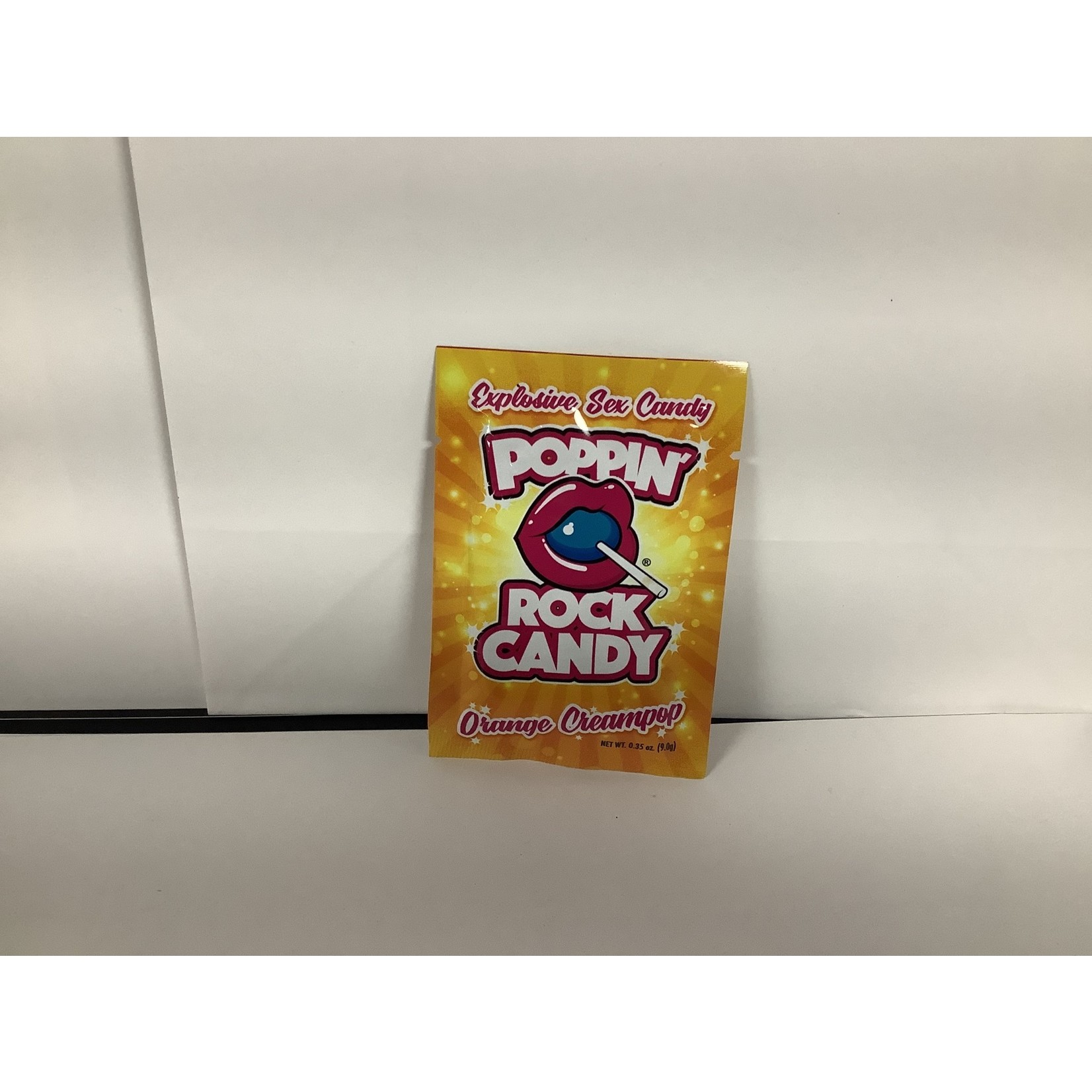Rock Candy Popping Candy-Orange Creampop