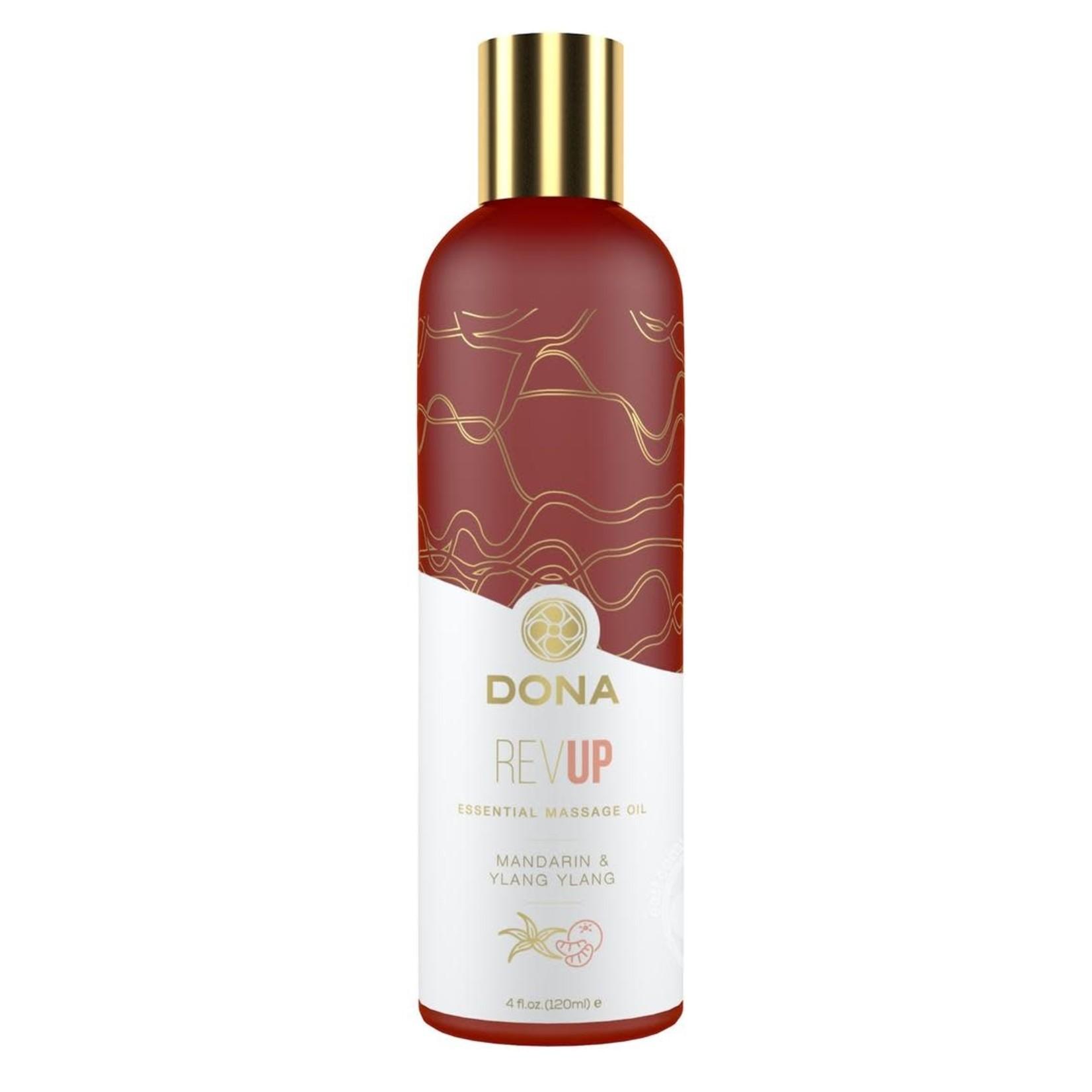 Dona Revup Vegan Massage Oil Revup Mandarin & Ylang Ylang 4oz