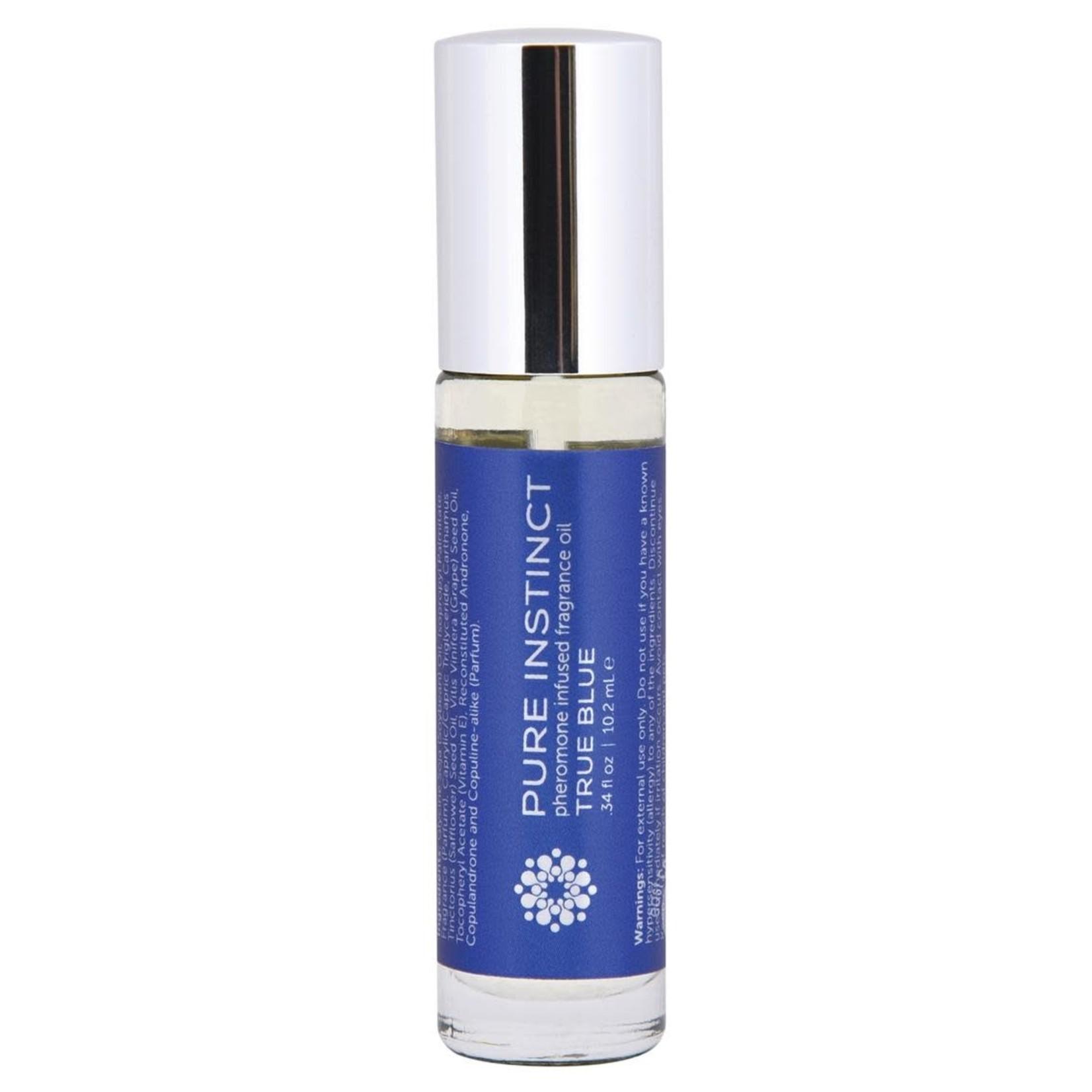 Pure Instinct Pheromone Fragrance Oil True Blue Roll On .35oz