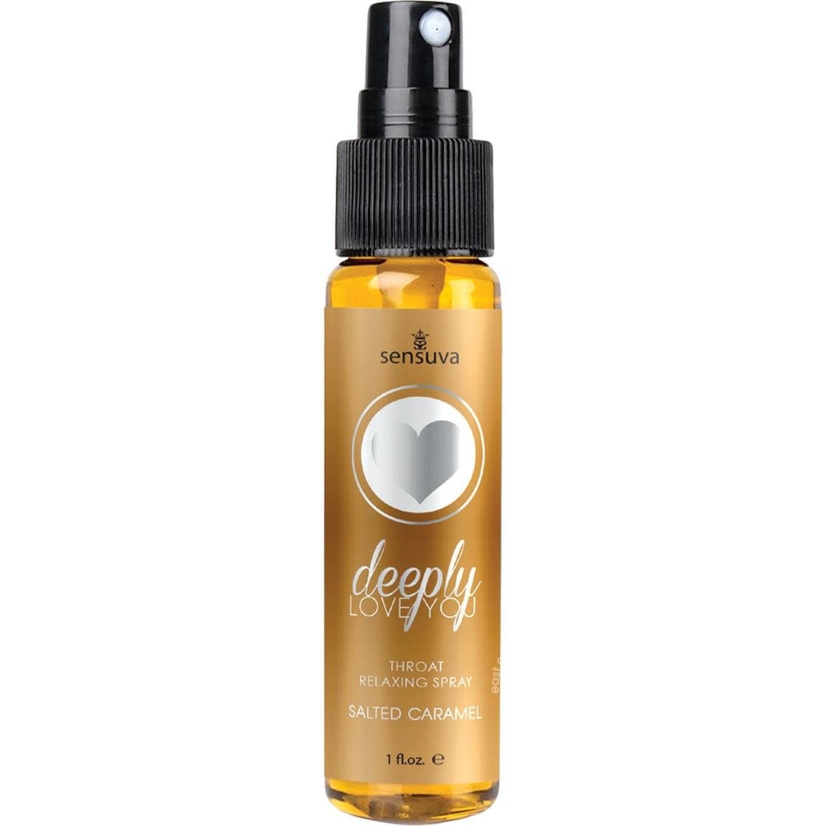 Deeply Love You Salted Caramel Throat Relaxing Spray 1 fl.oz. Bottle