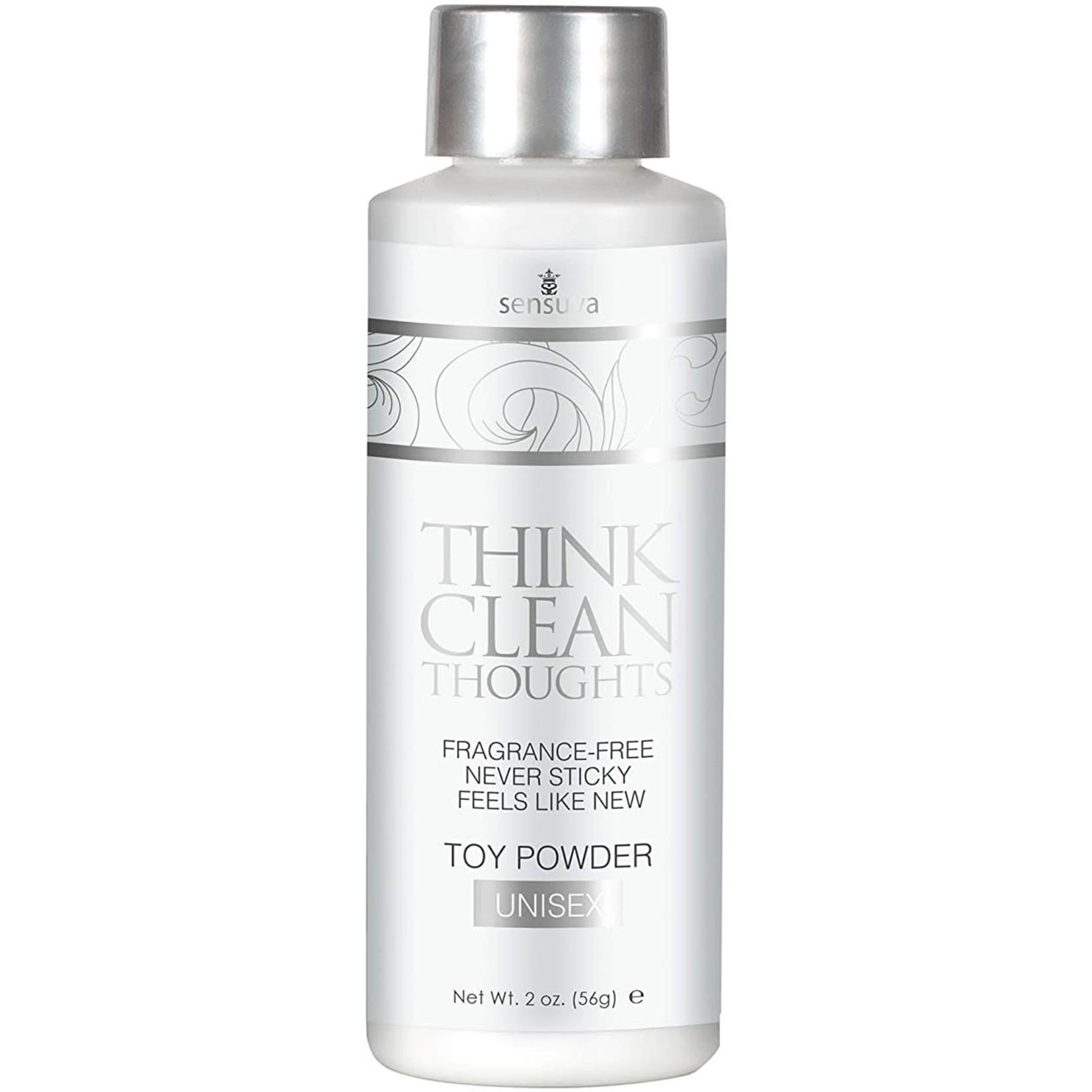 Think Clean Thoughts Toy Powder 2 fl.oz. Bottle