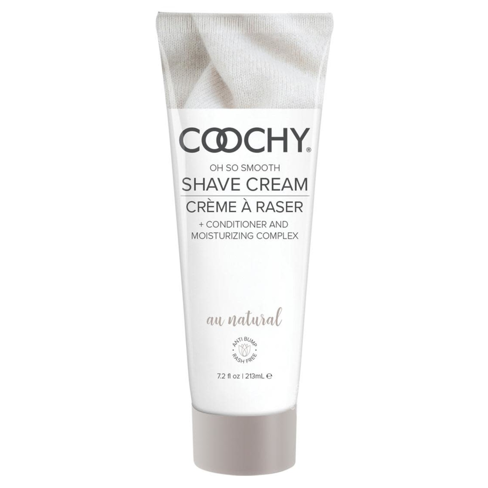 Coochy Shave Cream Au Natural 7.2oz