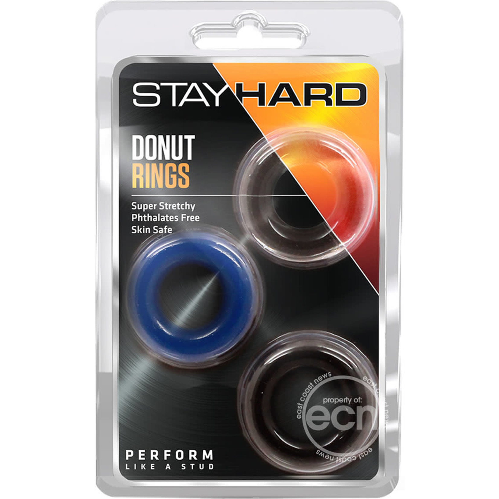 Stay Hard Donut Rings -Assorted