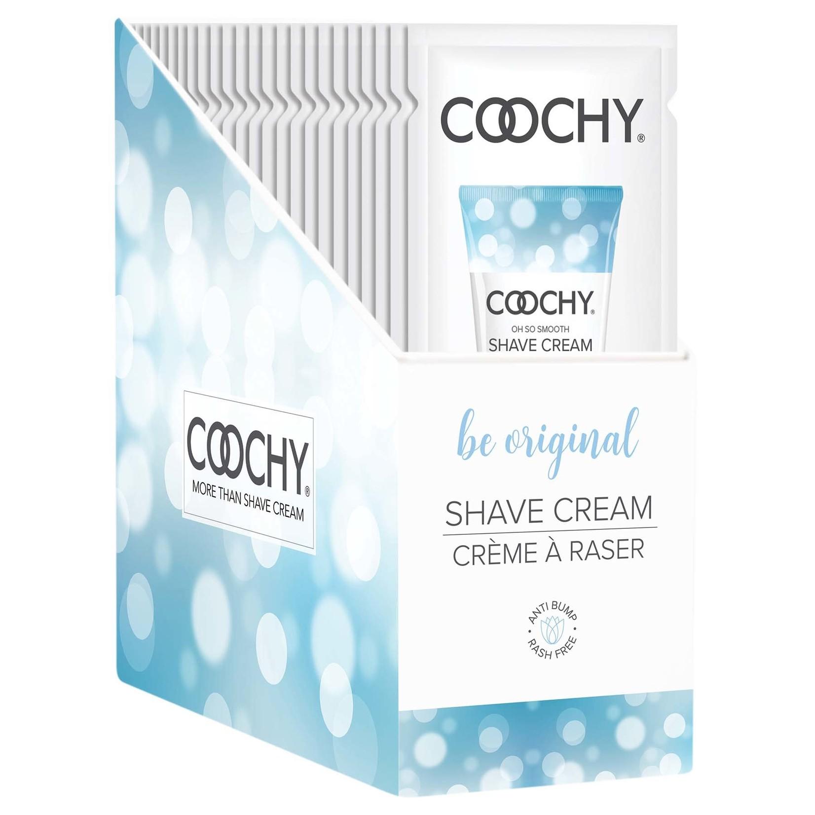 Coochy Shave Cream-Be Original 15ml Foil