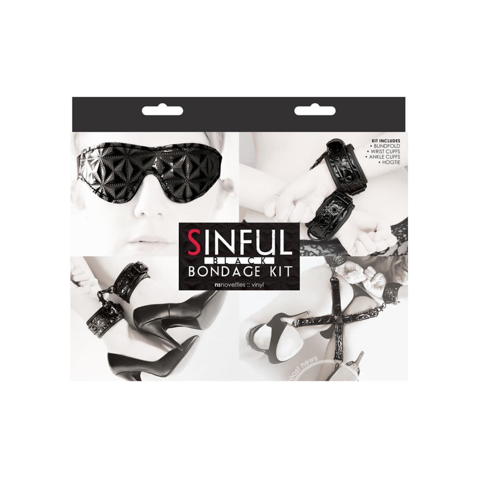 Sinful Bondage Kit-Black