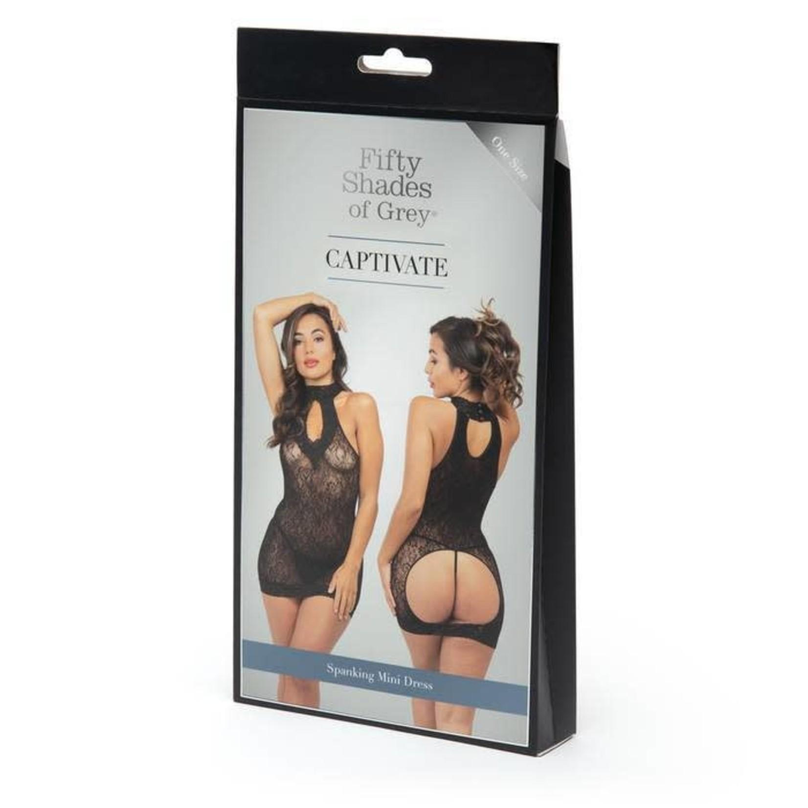 Fifty Shades Of Grey Captivate Spanking Mini Dress OS