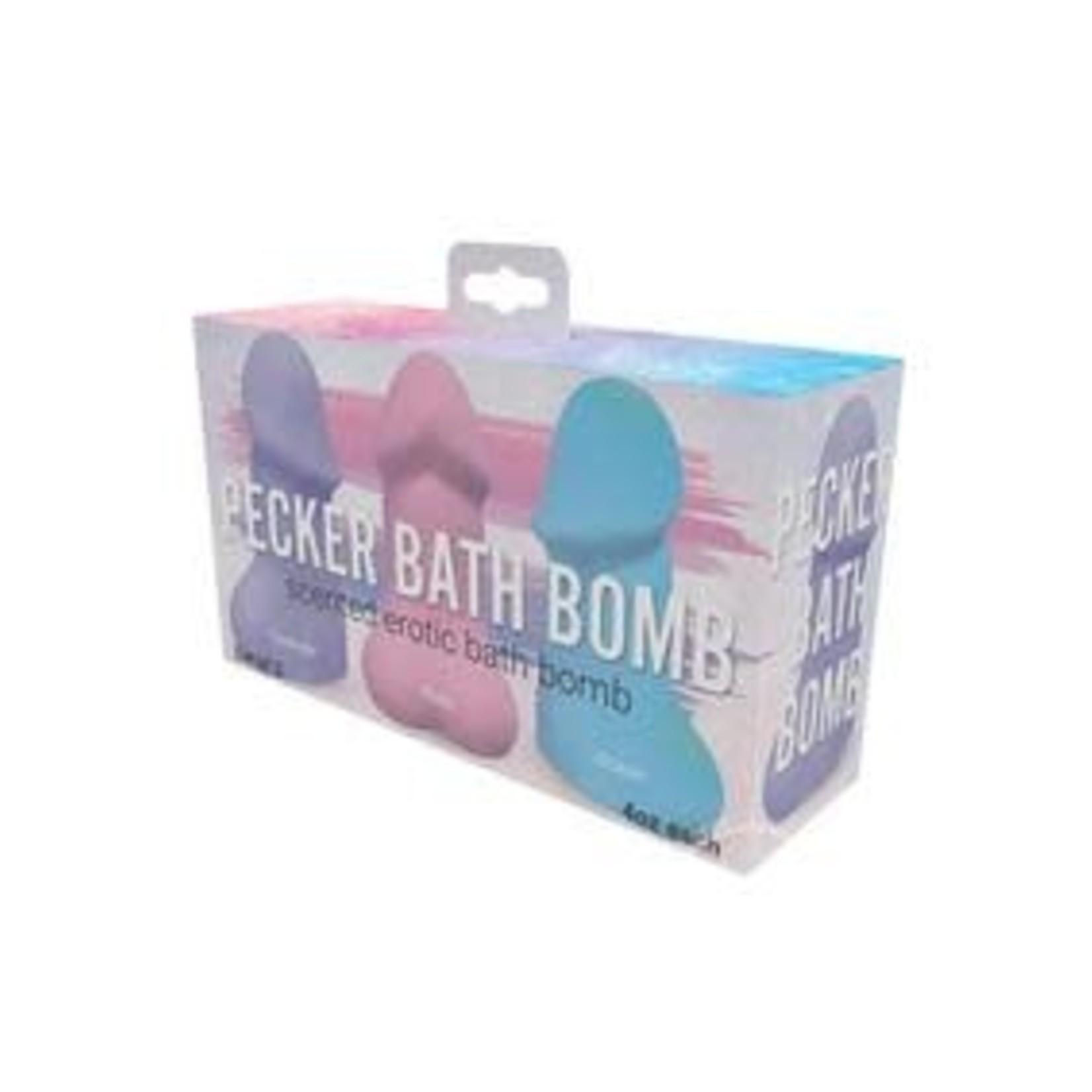 Pecker Bath Bomb-Jasmine Pack of 3