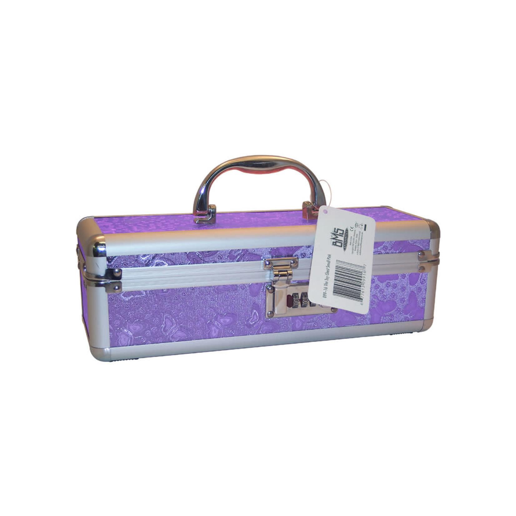 Lockable Vibrator Case Medium Purple