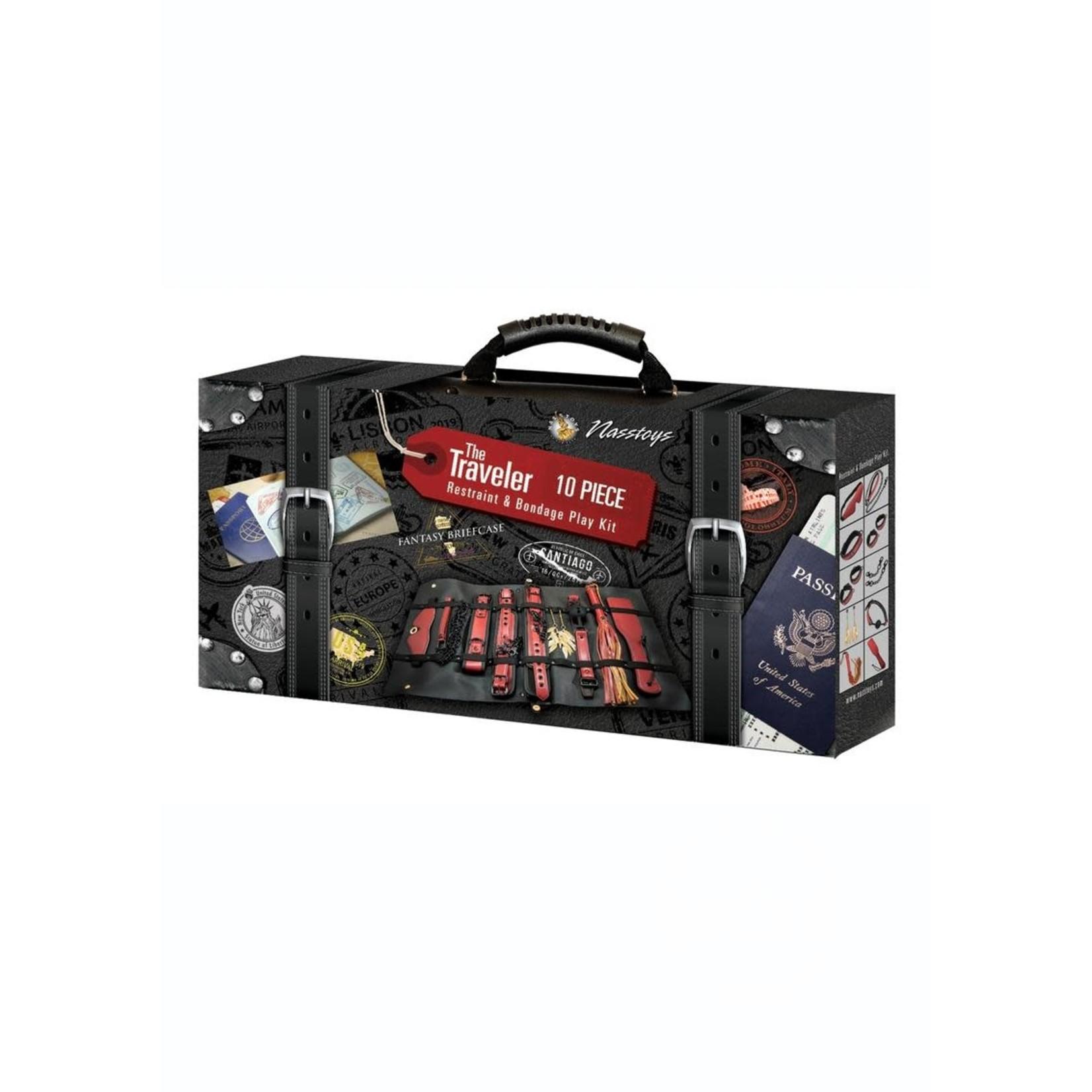 The Traveler Restraints & Bondage Kit 10pc