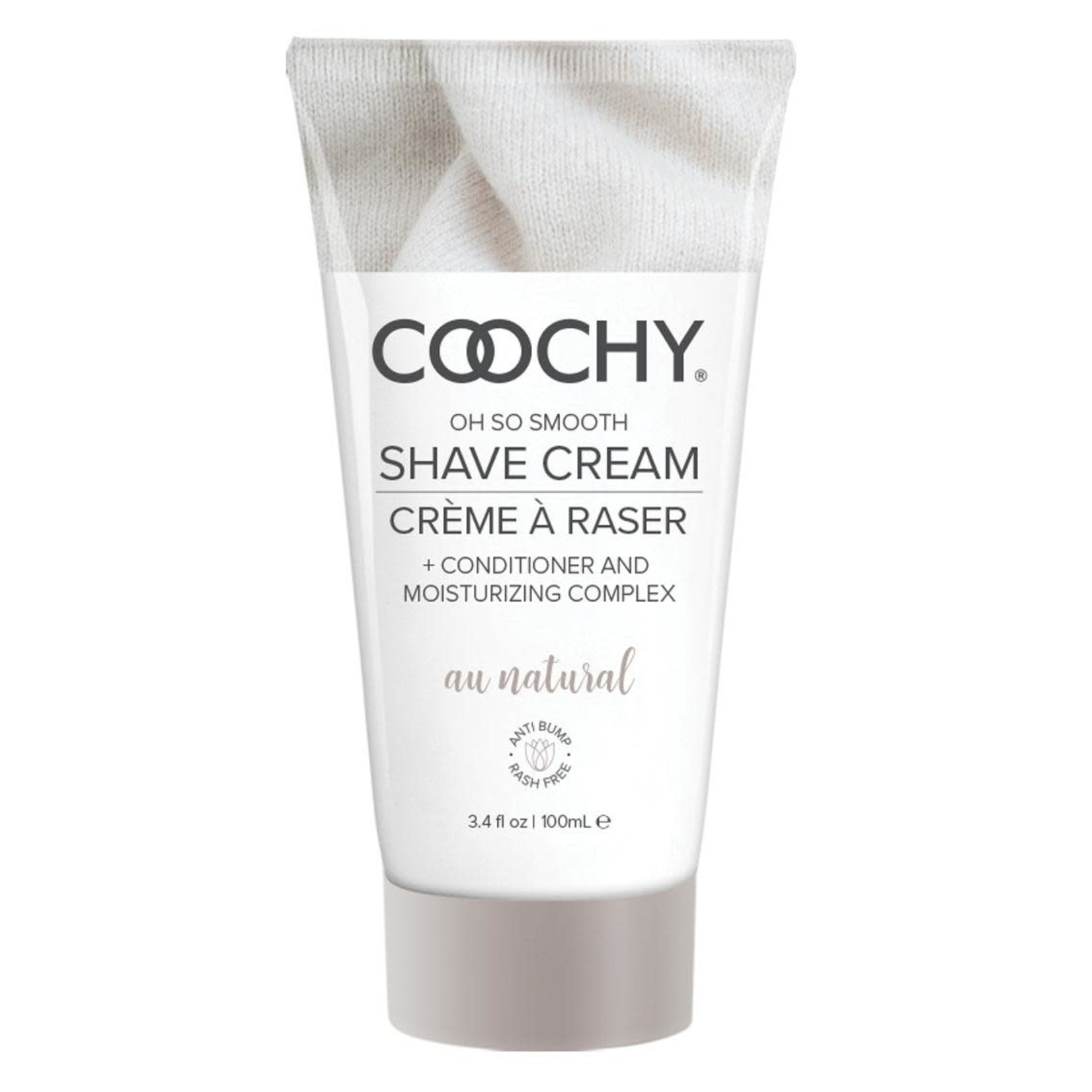 Coochy Shave Cream-Au Natural 3.4oz