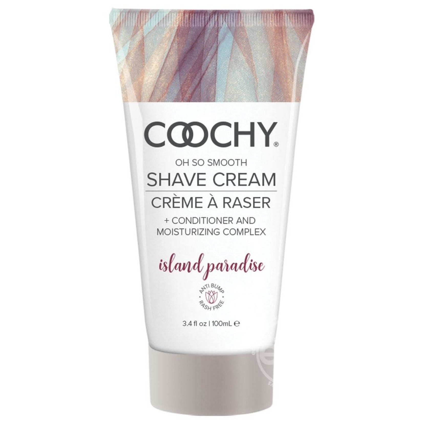 Coochy Shave Cream Island Paradise 3.4oz