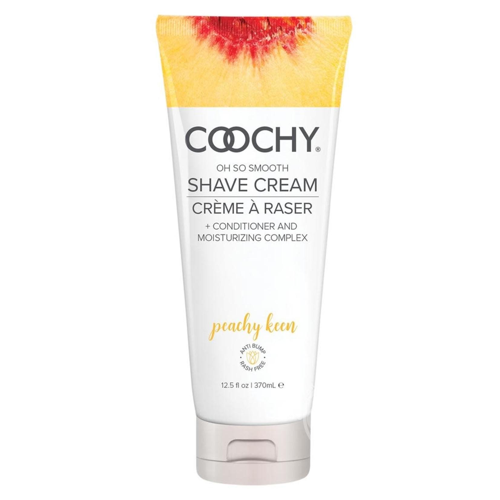 Coochy Shave Cream Peachy Keen 12.5oz