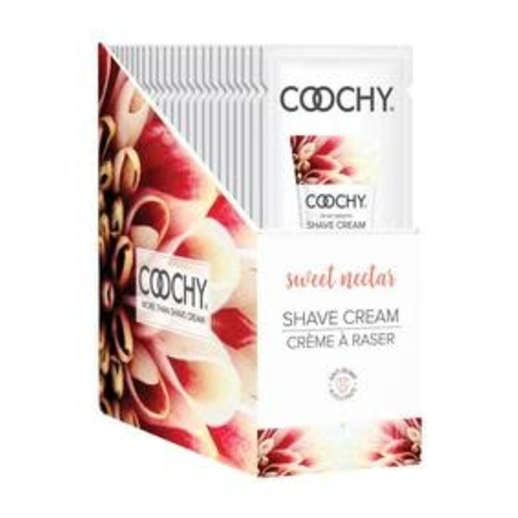 Coochy Shave Cream-Sweet Nectar 15ml Foil