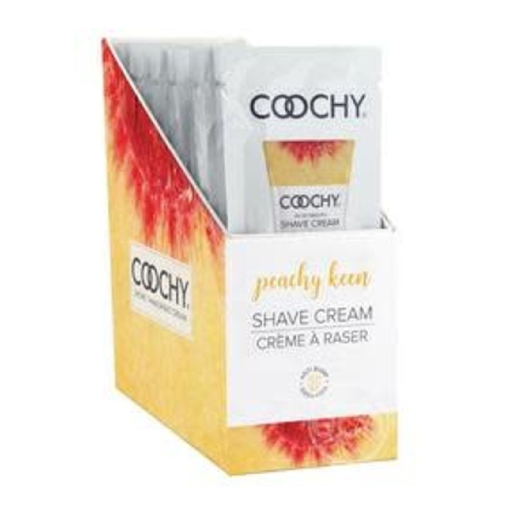 Coochy Shave Cream-Peachy Keen 15ml Foil
