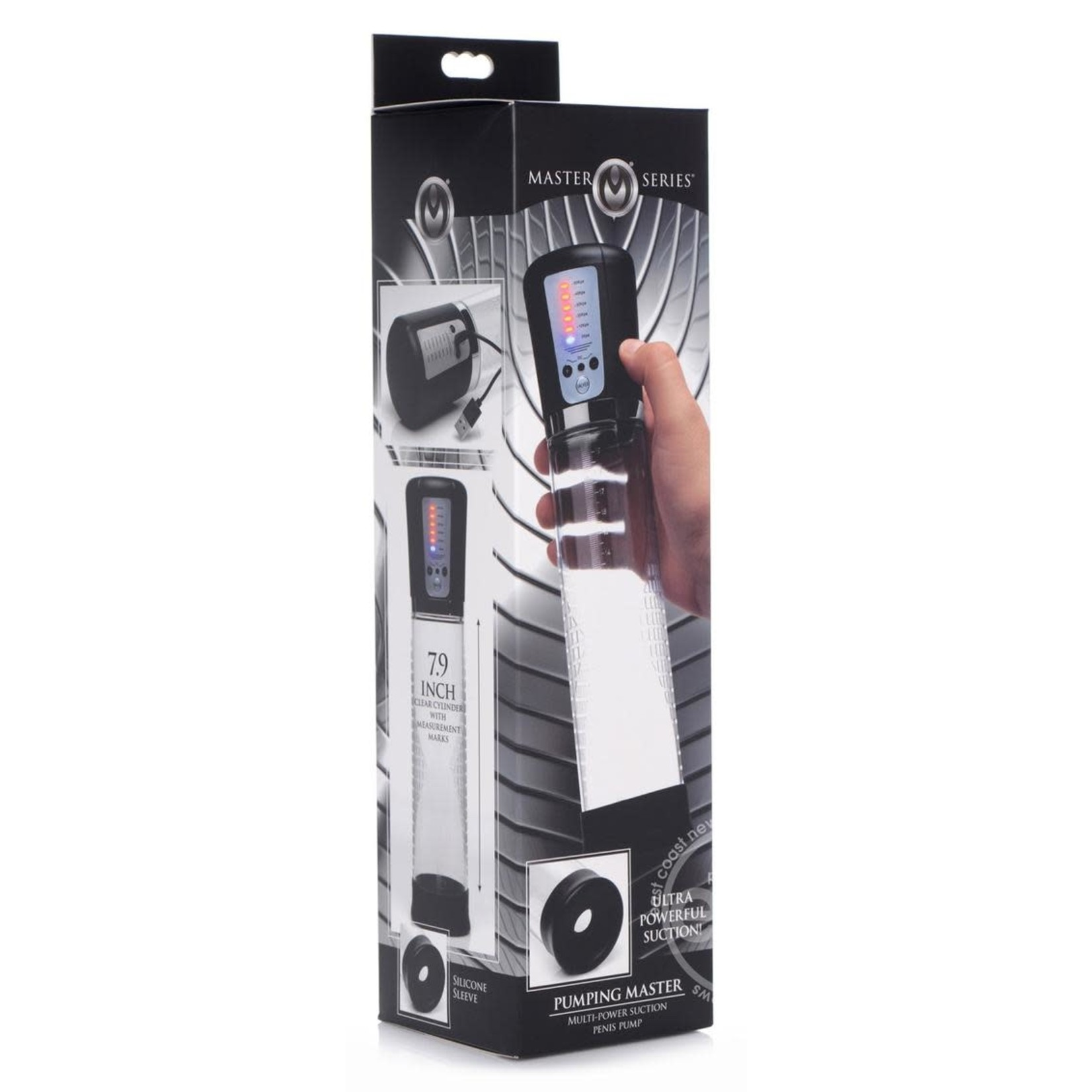 Master Series Pumping Master Rechargeable Penis Pump