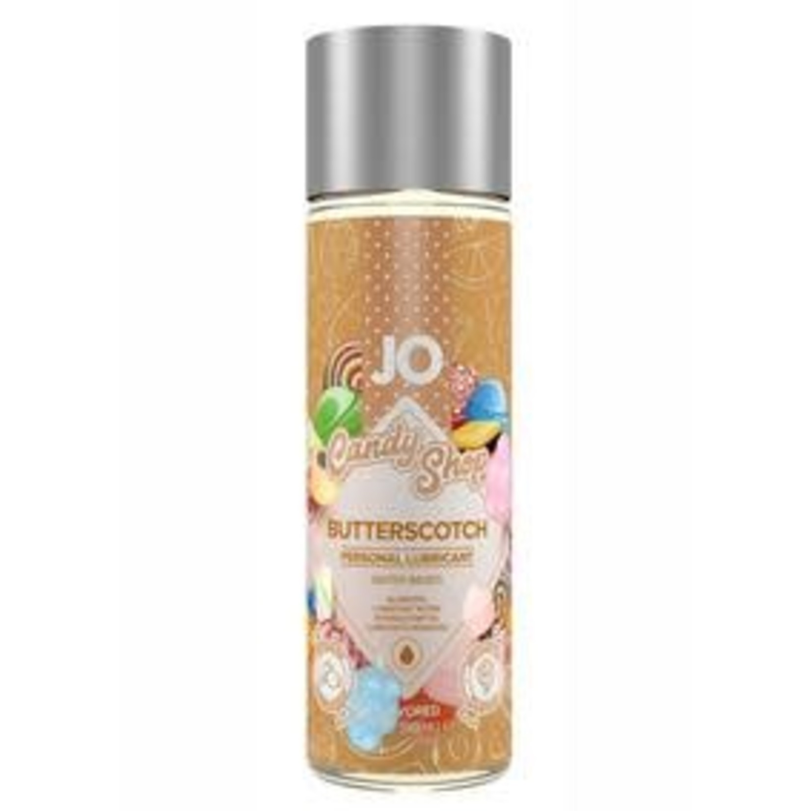 Jo Candy Shop Water Based Flavored Lubricant Butterscotch 2 Ounce