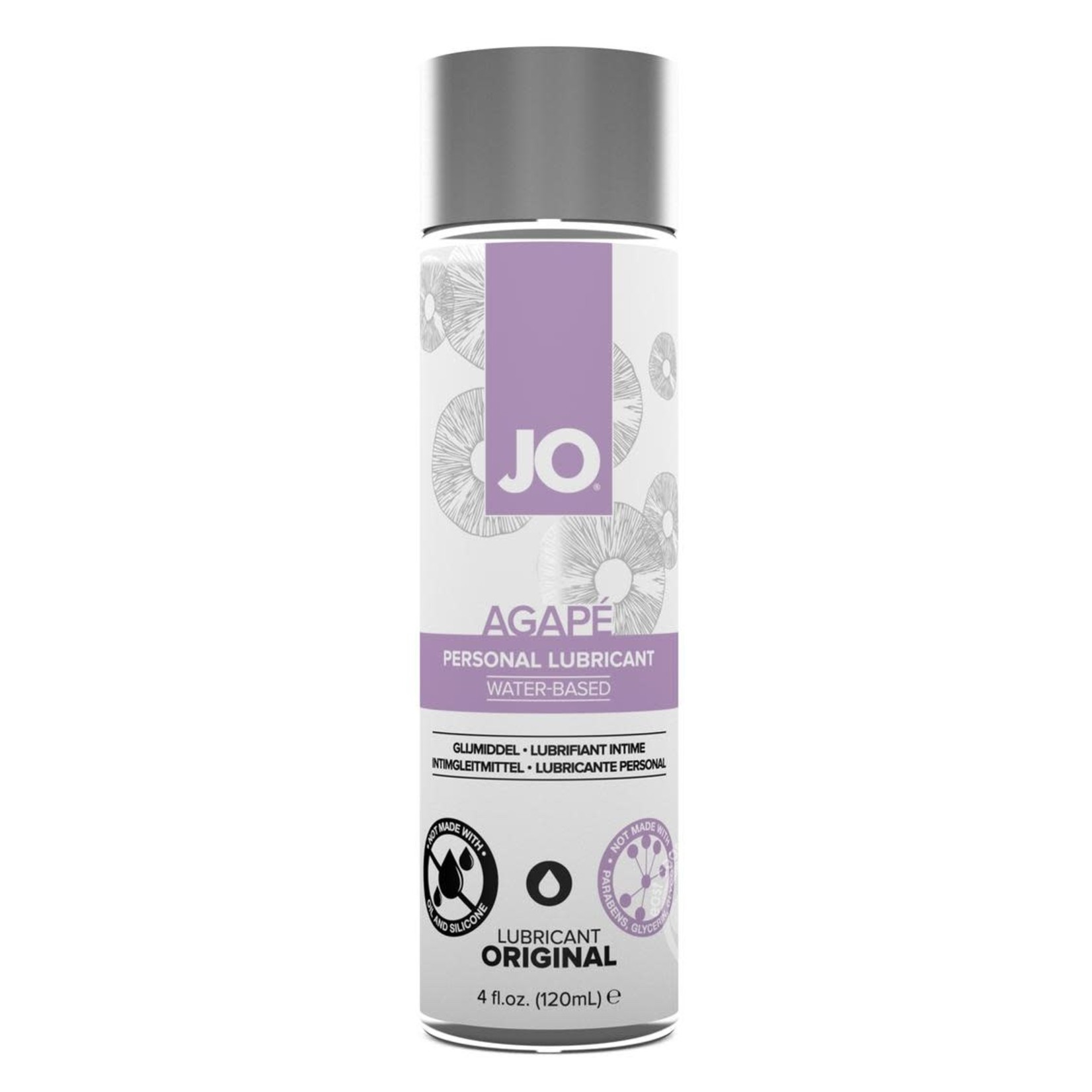 JO Agape Water Based Lubricant Original 4oz