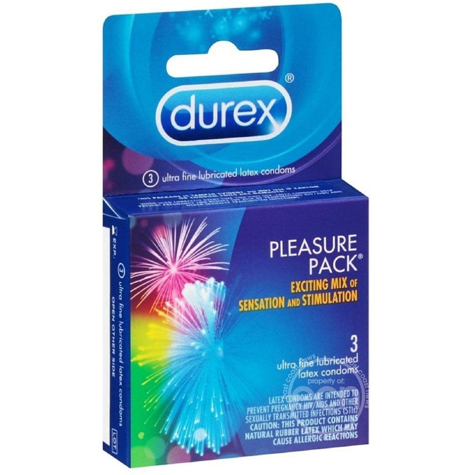 Durex Pleasure Pack (3 Pack)
