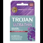 Trojan Ultra Thin Armor Spermicidal (3 Pack)
