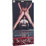 Scandal Spreader Bar - Red/Black