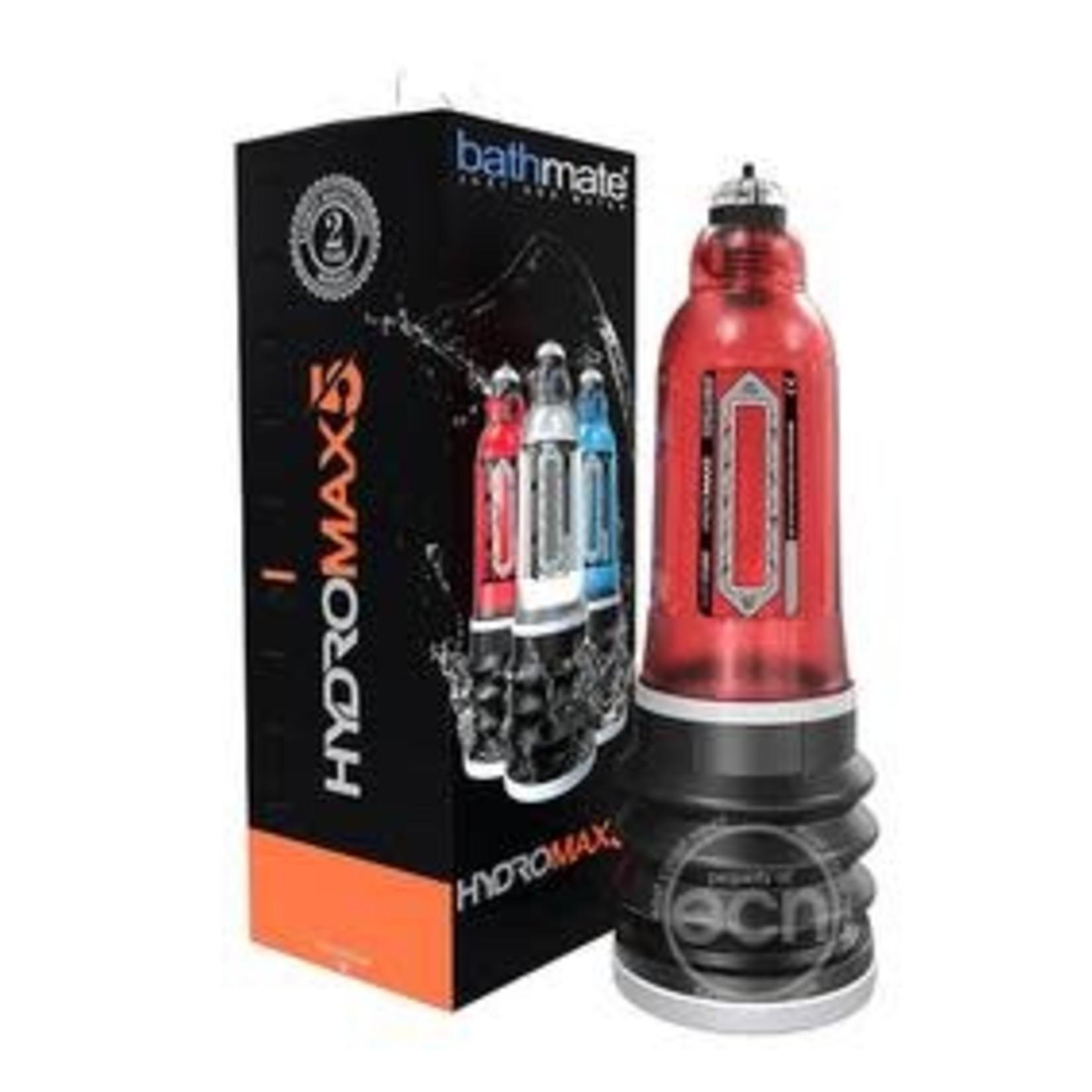 Hydromax 5 Penis Pump - Red