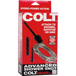COLT Shower Shot Anal Douche With Dong 6.75in - Black