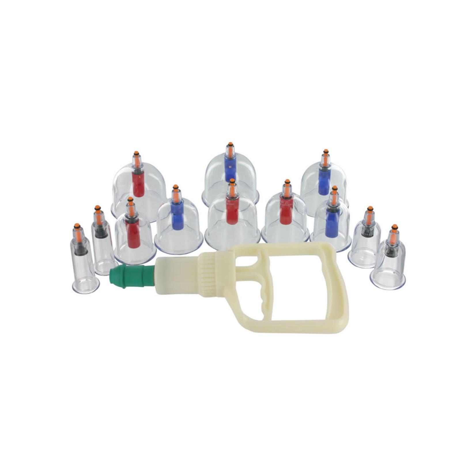 Master Series Sukshen 12 Piece Cupping System