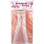 Bachelorette Party Light Up Party Veil Multi ColorFlashing Penis