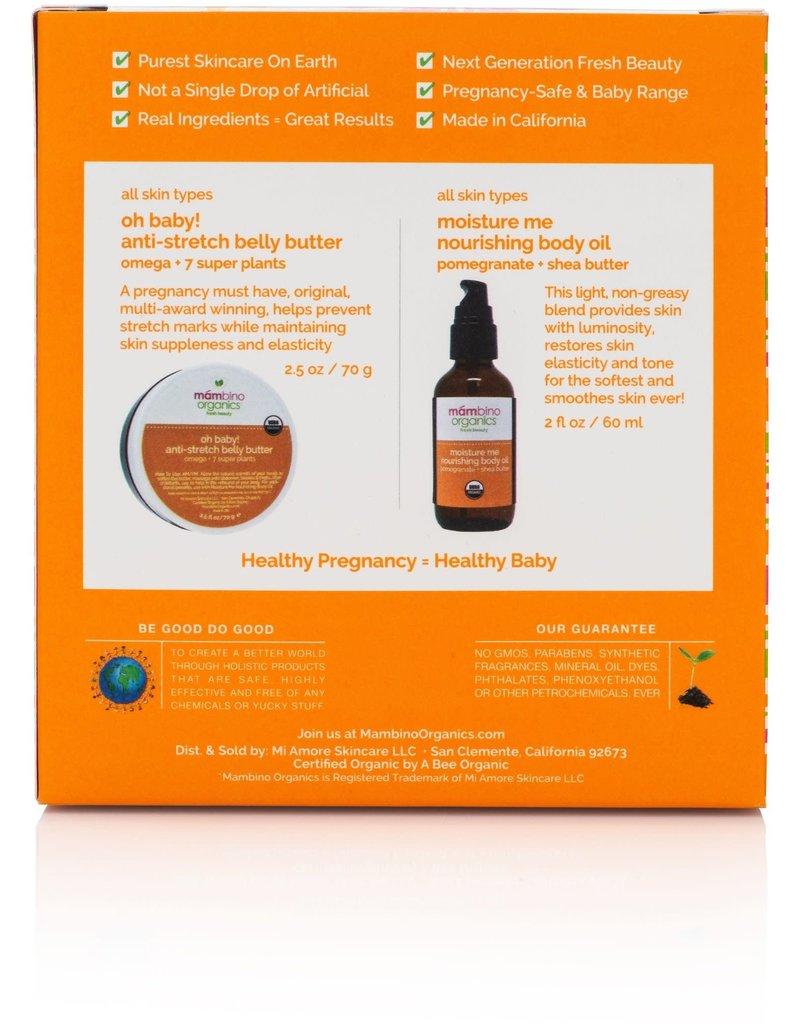 Mambino Organics Mambino Org. Anti-Stretch & Rebound Skin Duo Kit