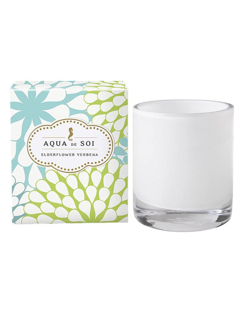 Aqua de Soi Aqua Elderflower Verbena Soy Candle
